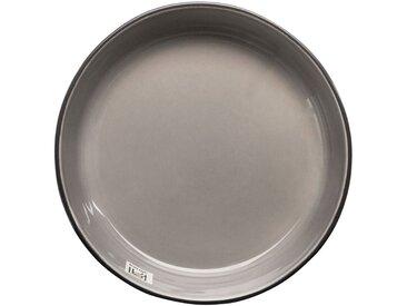 Saladier en faïence gris restanque D24cm - alinea