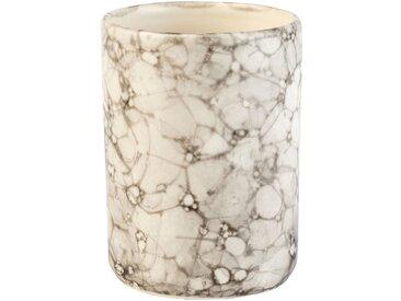 Gobelet en céramique Blanc nervuré Alinéa