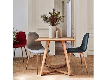Lot de 2 chaises en tissu bleu (prix unitaire : 39.0 euros) - alinea