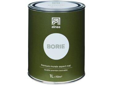 Peinture acrylique mate multi-supports 1L gris borie Alinéa