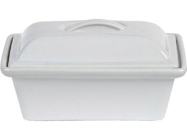 Terrine En Grès Blanc Rectangulaire 20x12cm 0,50cl - alinea