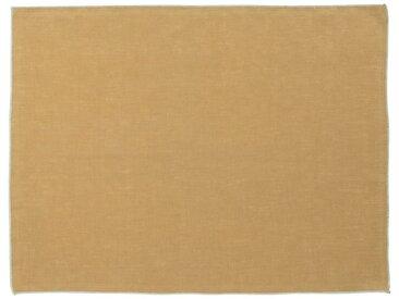 Lot de 2 sets de table en lin et coton beige nèfle 36x48cm (prix unitaire : 6.0 euros) - alinea