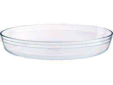 Plat Ovale En Verre Borosilicate 35x24cm - alinea