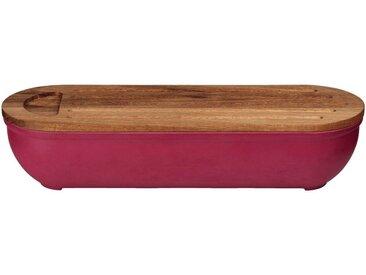 Boîte à pain en bambou rouge sumac - alinea