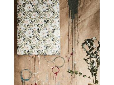 Papier peint floral art nouveau 10m - alinea