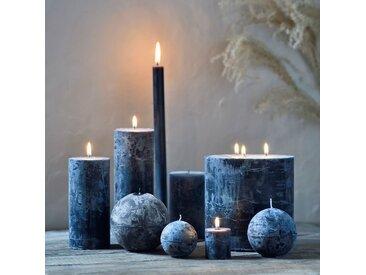 Bougie lanterne coloris gris calabrun D15xH15cm - alinea