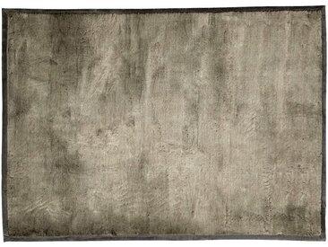 Tapis imitation fourrure - gris foncé 160x230cm - alinea