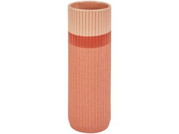 Vase strié en céramique terracotta Orange H35 cm Alinéa