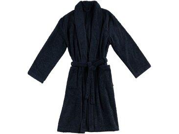Peignoir en coton L/XL bleu calabrun - alinea