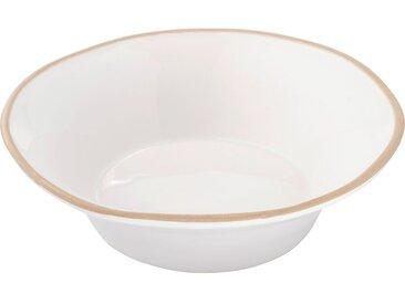 Lot de 6 assiette creuse en faïence blanc ventoux d16cm (prix unitaire : 4.5 euros) - alinea