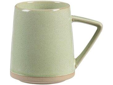 Lot de 2 mugs en grès - vert - 40cl (prix unitaire : 5.0 euros) - alinea