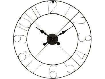 Horloge murale en métal (D76cm) Alinéa