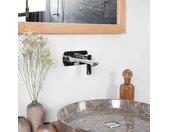 Robinet encastrable mural pour vasque Tamise chromé