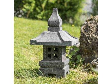 Lanterne de jardin japonais deco zen 50 cm