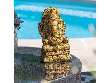 Statue Ganesh doré 40 cm
