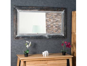 Miroir Venise en bois patiné Cérusé 140cm X 80cm