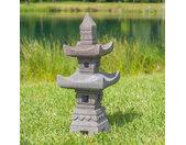Lanterne japonaise en pierre de lave 70cm