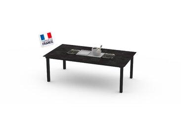 La Garrigue - table classique - table multifonctions : barbecue, vasque à champagne, plateau de présentation, couvercle - 10 places max