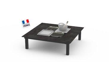 La Garrigue - table basse - table multifonctions : barbecue, vasque à champagne, plateau de présentation, couvercle - 8 places max