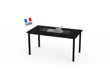 La Garrigue - table haute - table multifonctions : barbecue, vasque à champagne, plateau de présentation, couvercle - 10 places max