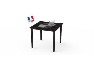 La Garrigue - table haute - table multifonctions : barbecue, vasque à champagne, plateau de présentation, couvercle - 8 places max