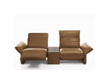 Canapé relax manuel 2 places haut de gamme ELENA de KOINOR 240 cm avec table intégrée