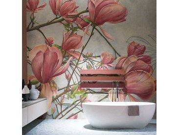 Tapisserie luxe design Magnolia in bloom