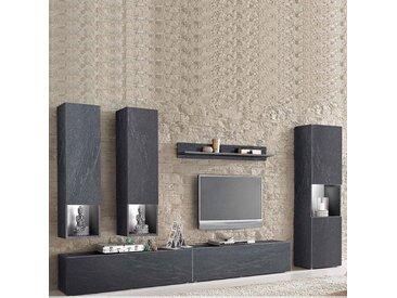 Ensemble meuble TV effet béton design FELIX