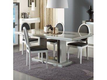 Table extensible 160 cm blanche design RIMIO