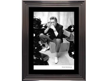 Tableau photo Gainsbourg encadré, 74x94