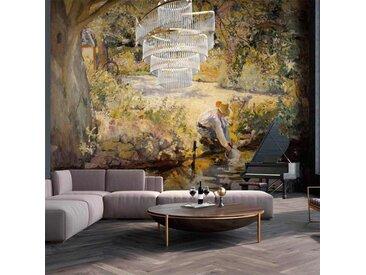 Tapisserie murale oeuvre d'art Delaunay Robert