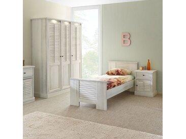 Chambre adolescent couleur bois blanc ARIZONA