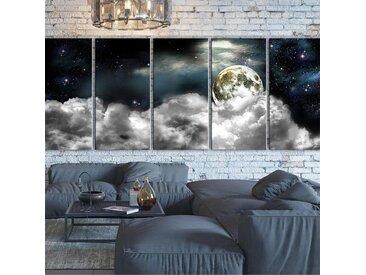 Grand tableau déco Cosmos 200x80