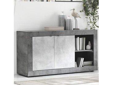 Meuble d'entée design gris GIOVETO