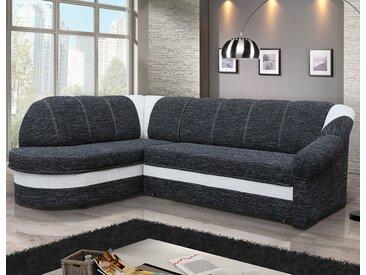 Canapé d'angle convertible avec coffre de rangement MAEVA