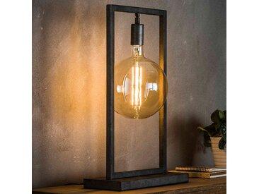 Lampe en métal gris moderne CLIFF