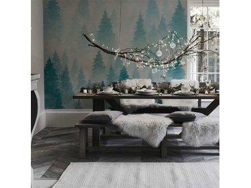 Tapisserie murale haut de gamme Blue forest