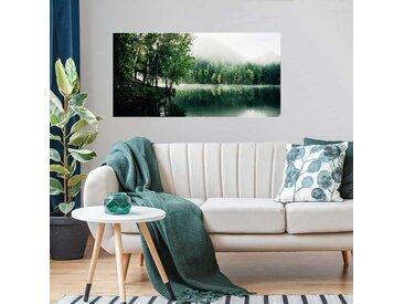 Radiateur tableau déco design Lac vert 120x60