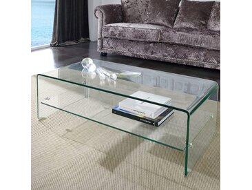 Table basse en verre design CALEB