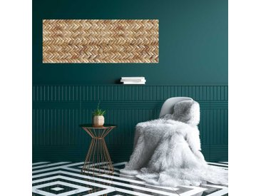Radiateur décoratif design aspect Rotin
