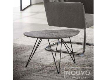 Table basse design effet béton PIA