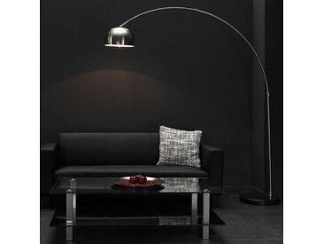 Lampadaire arc design en inox PALLADIUM