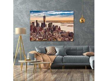 Radiateur tableau décoratif design Manhattan
