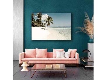 Radiateur design électrique plage et palmiers