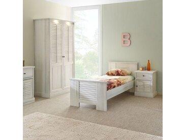 Chambre individuelle couleur bois blanc ARIZONA