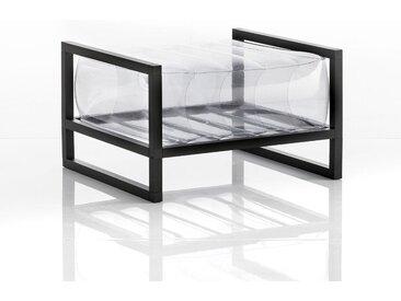 Pouf EKO en aluminium et TPU Transparent