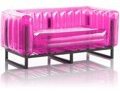 Canapé EKO en aluminium et TPU Crystal Pink