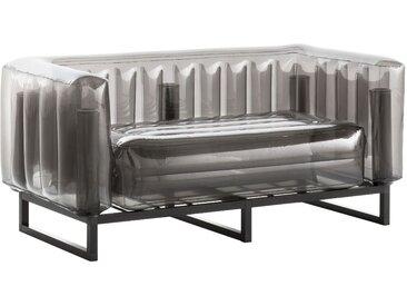 Canapé EKO en aluminium et TPU Crystal Black