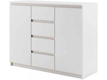 Commode IDEA blanche largeur 110cm