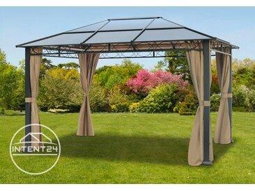 Tonnelle de jardin Paradise Deluxe taupe, 3x4m
